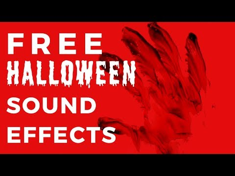 Halloween Sound Effect -|- FREE DOWNLOAD -|- Happy October!