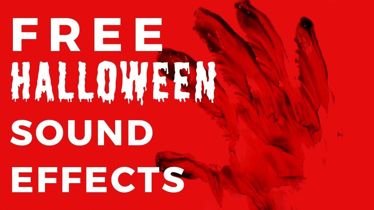 free halloween sound effects # 4
