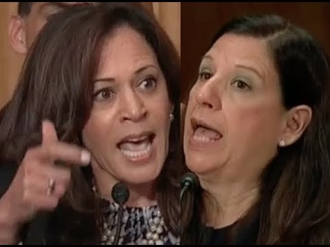 """700,000 YOUNG PEOPLE!!!"" Kamala Harris GETS PISSED OFF & DESTROYS Trump Lackey Elaine Duke on DACA"