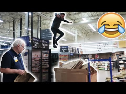 TRYING TO GET KICKED OUT OF WALMART! *BAD IDEA*