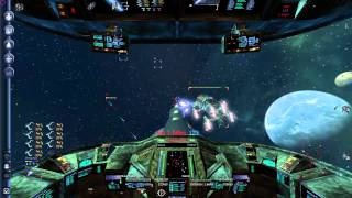 X3: Albion Prelude - Combat Gameplay | Argon Centaur