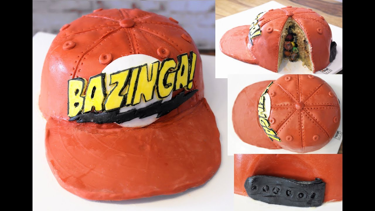 The Big Bang Theory Torte Bazinga Torte Bazinga Cake 3d