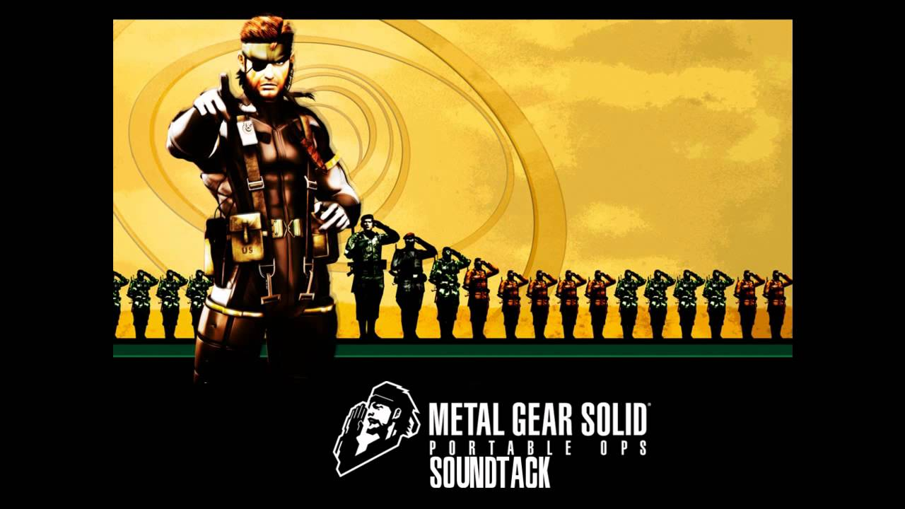 metal gear portable ops soundtrack