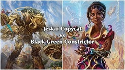 MTG Jeskai Copy Cat vs Black Green Constrictor - Game 2 of 3 - Cockatrice