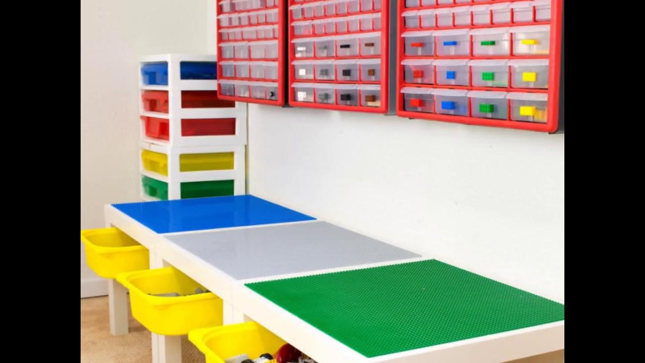DIY Lego Table With Storage