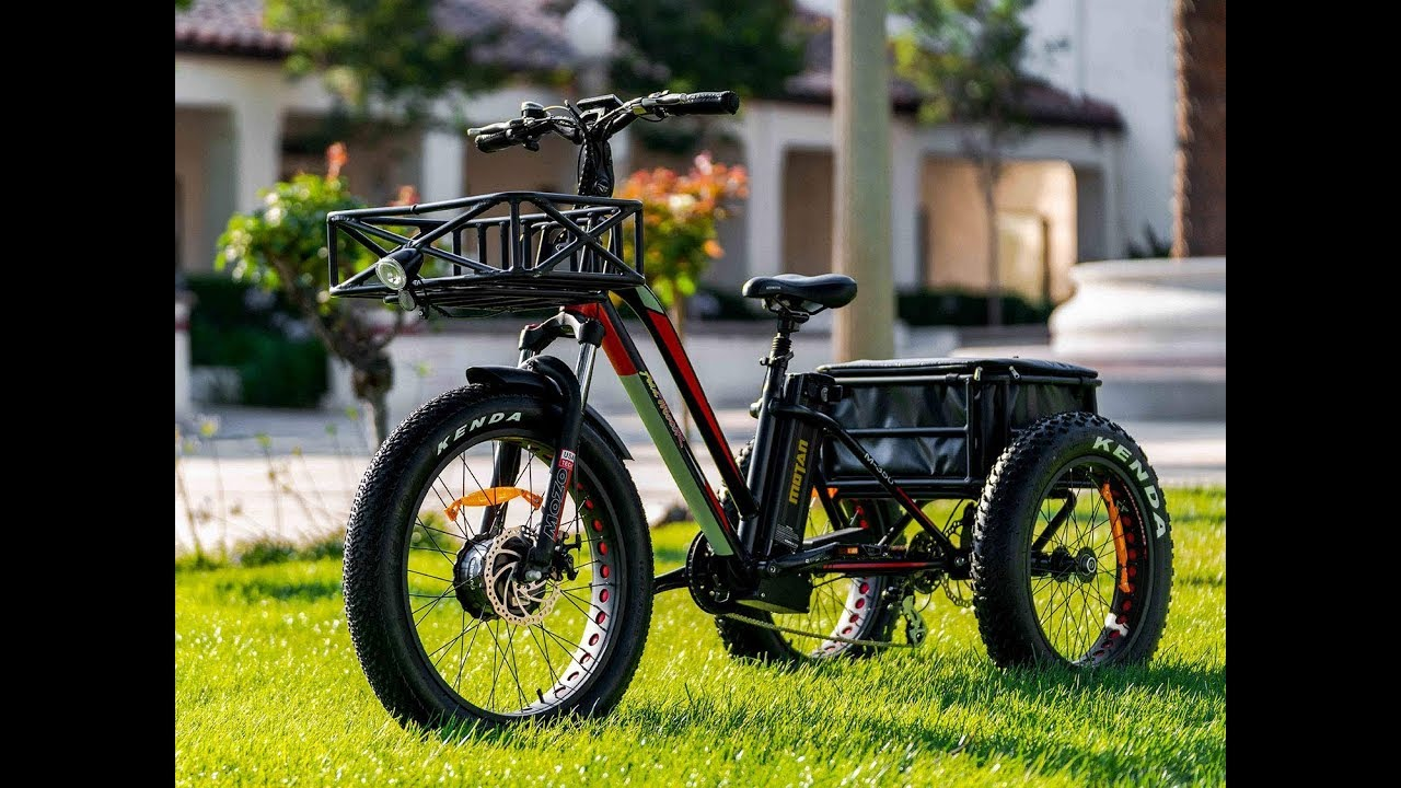 Top 7 Best Electric Tricycle 2020 - YouTube