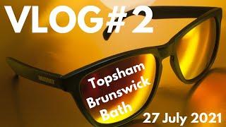 VLOG #2 | 27 July 2021 | Exploring Topsham, Brunswick, and Bath Maine...