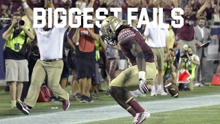 College Football Biggest Fails 2016-17 ᴴᴰ