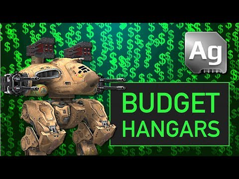Budget Hangars: Silver Bots & Weapons Only (Part 1)