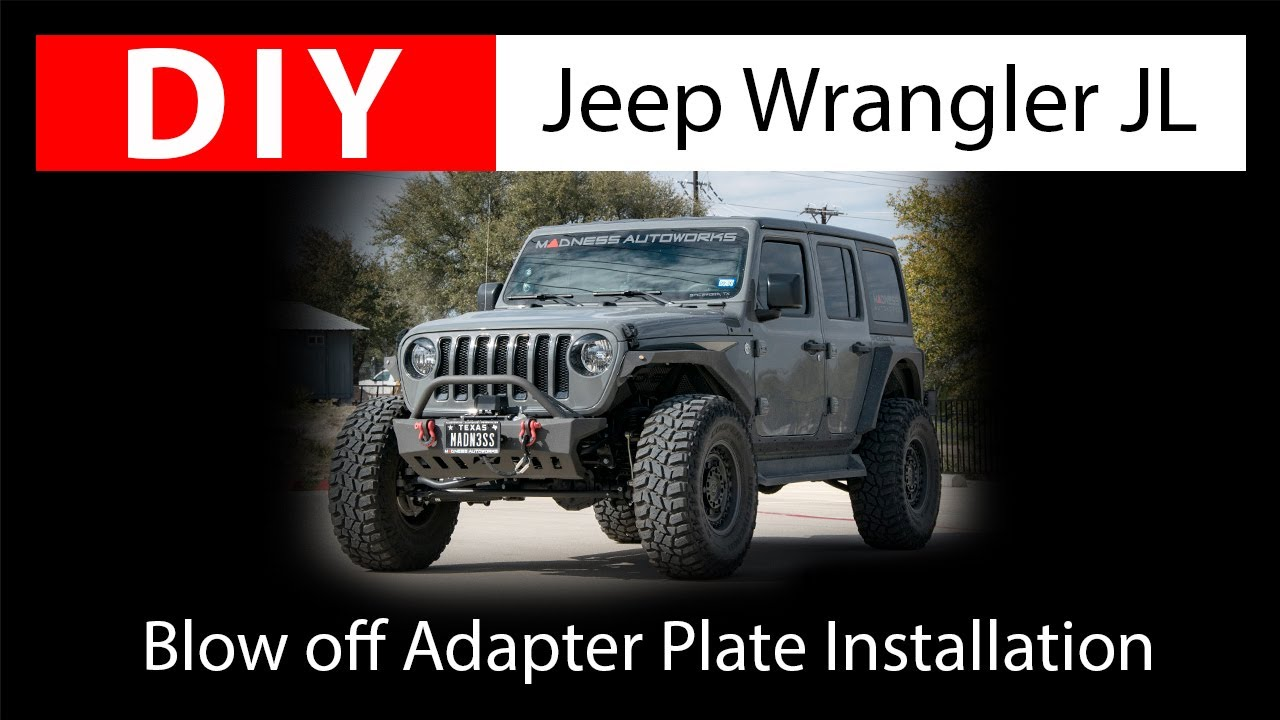 DIY Jeep Wrangler JL: Installing the SILA Concepts Blow off Adapter Plate