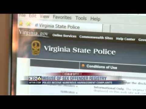 Offender online registry sex virginias