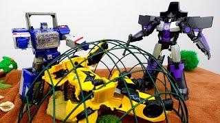 Видео  для мальчиков: Бамблби ищет клад! Игры - трансформеры