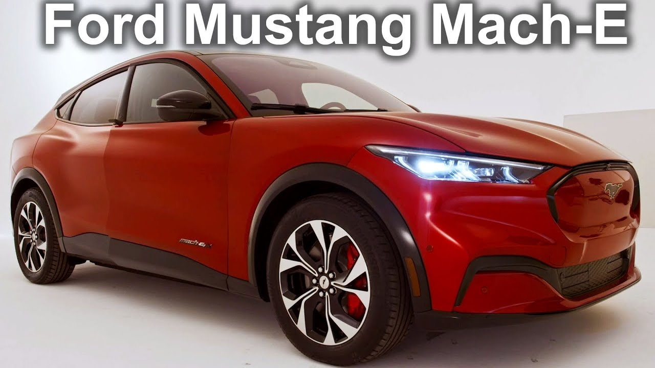 2020 Ford Mustang Mach E