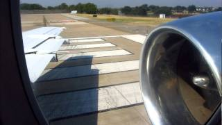 business jet access bac 111 419ep engine start departure rwy 13l from dallas love field dal