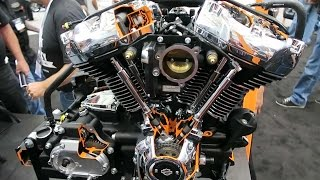 2017 Harley-Davidson Milwaukee Eight Revealed │Everything you need to know │Detailed Footage
