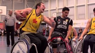 Rollstuhl Basketball+Trailer+ Hannover+United +2013 2014 HD