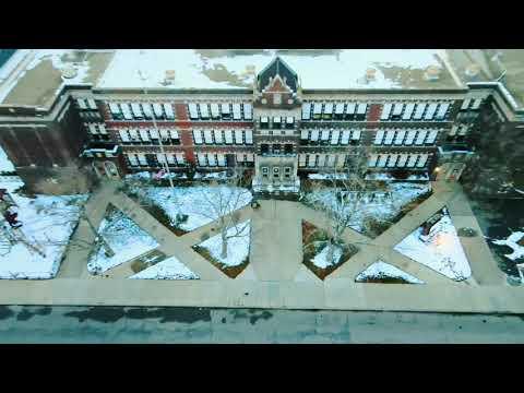 Salina School in winter ??