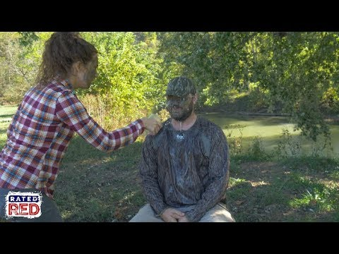 We Test Out 3 Types Of Hunting Face Paint