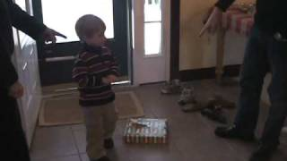 James Autism Age 2/3 before GAPS diet