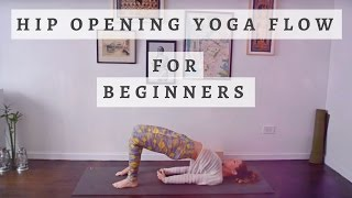 Beginner Yoga: Hip Opening Flow