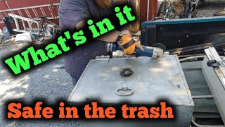 Street scrapping what's in the safe!