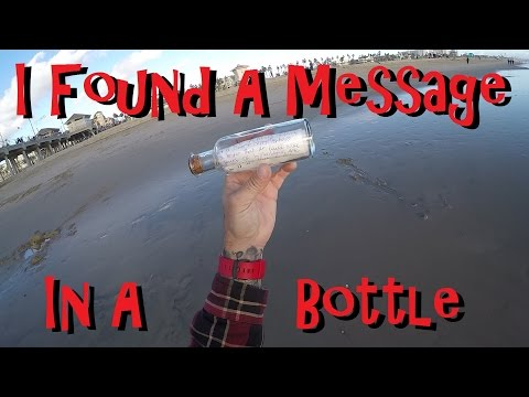 I Found A Message In A Bottle Metal Detecting HB