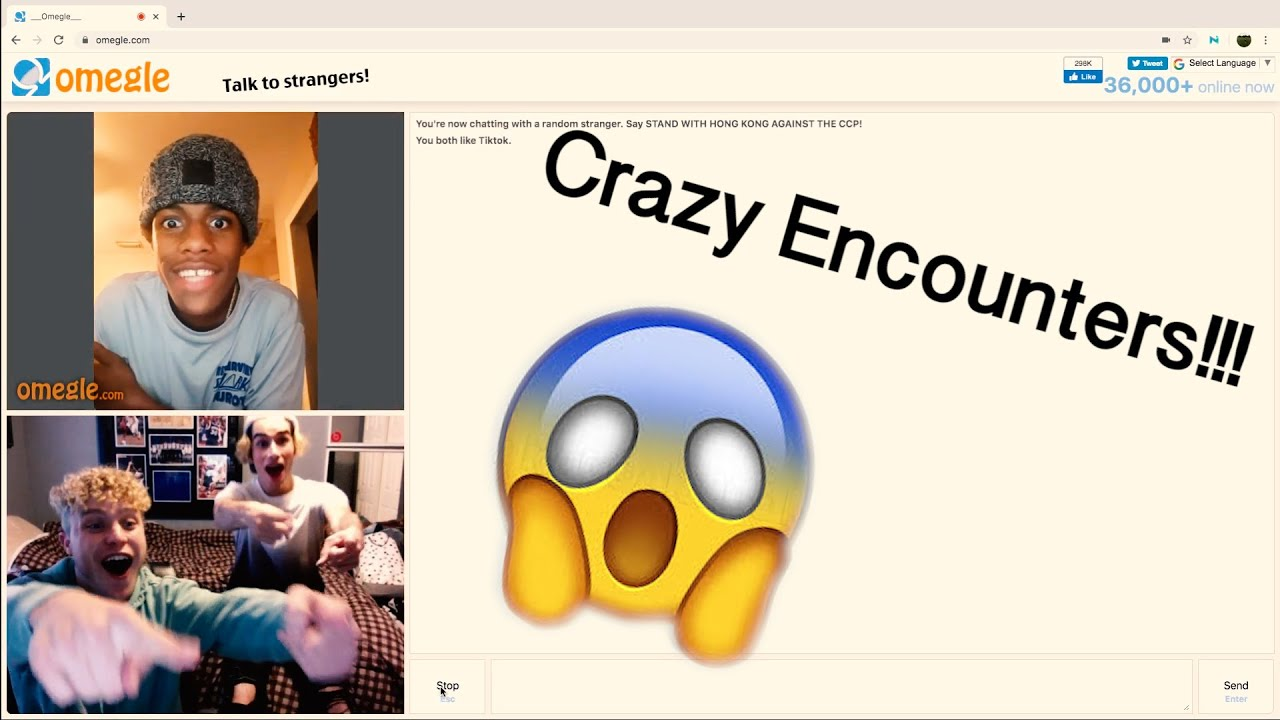 Dumb kid gets trolled on Omegle - YouTube