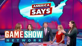 Can They Win $15,000? | America Says | Game Show Network