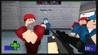 Bear once again rages through the pain of Roblox Gun Game