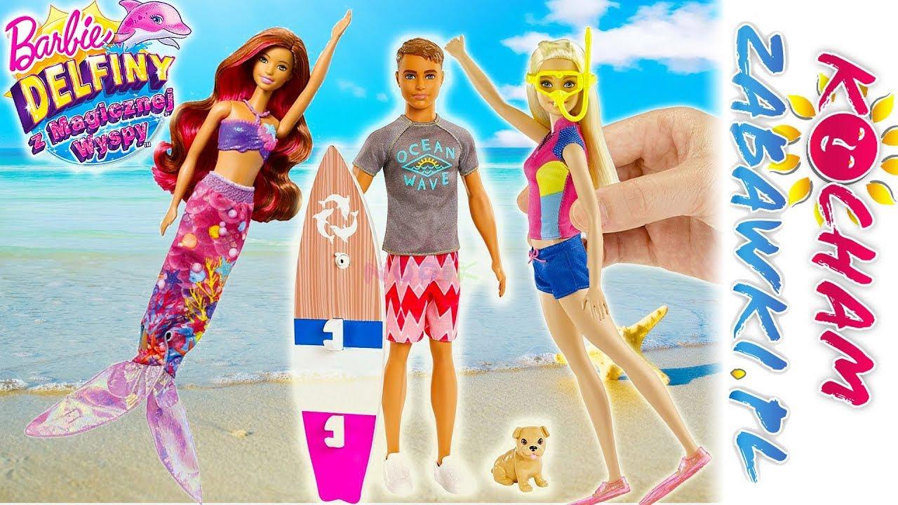 Barbie Delfiny z Magicznej Wyspy • Sekret Syreny • Bajki po polsku