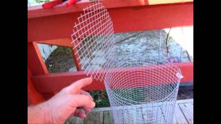 How To Build A Fish Trap For Bait