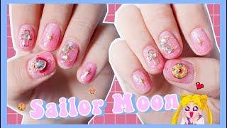 Sailor Moon Nails | ทำเล็บลายเซเลอร์มูน ด้วยตัวเอง