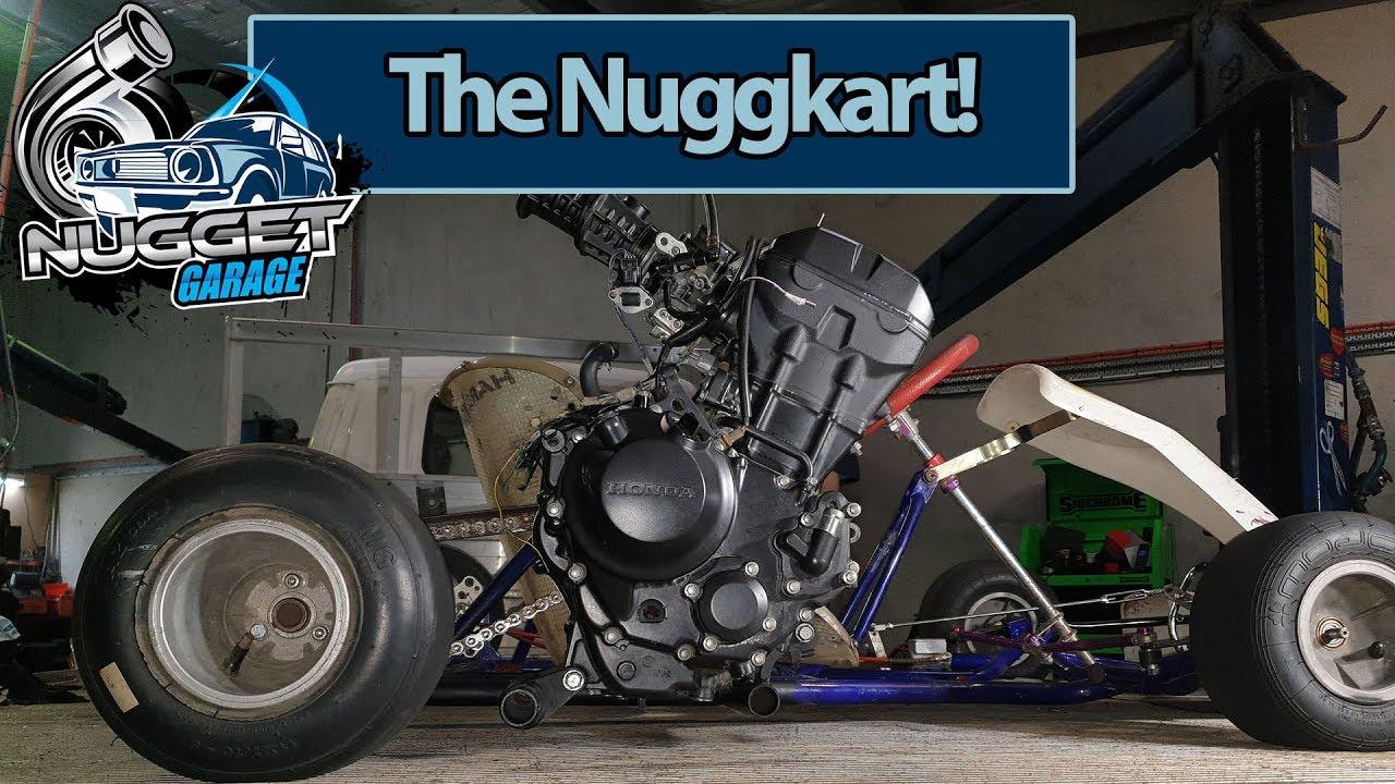 nugget garage turbo honda powered go kart the nuggkart ep01 youtube nugget garage turbo honda powered go kart the nuggkart ep01