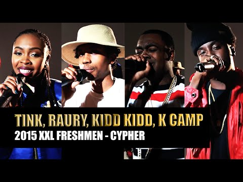 XXL Freshmen 2015 Cypher - Part 1 - Kidd Kidd, K Camp, Tink & Raury