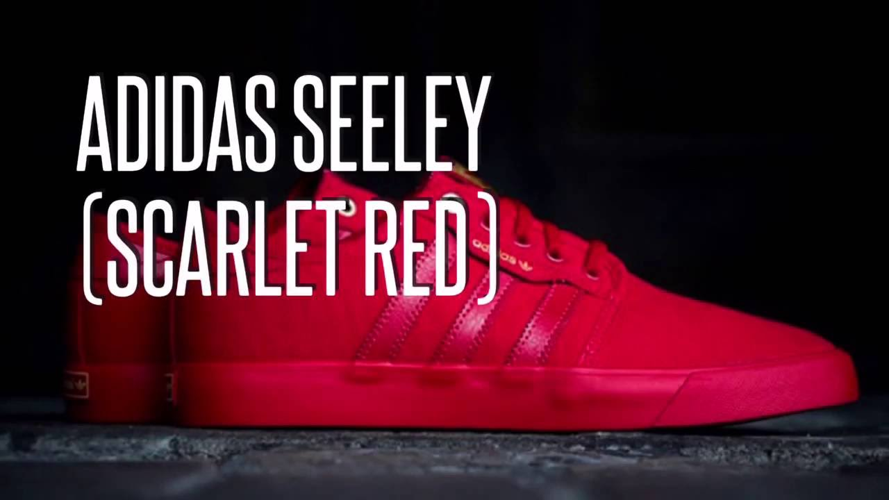 ADIDAS SEELEY (SCARLET RED)/ SNEAKERS