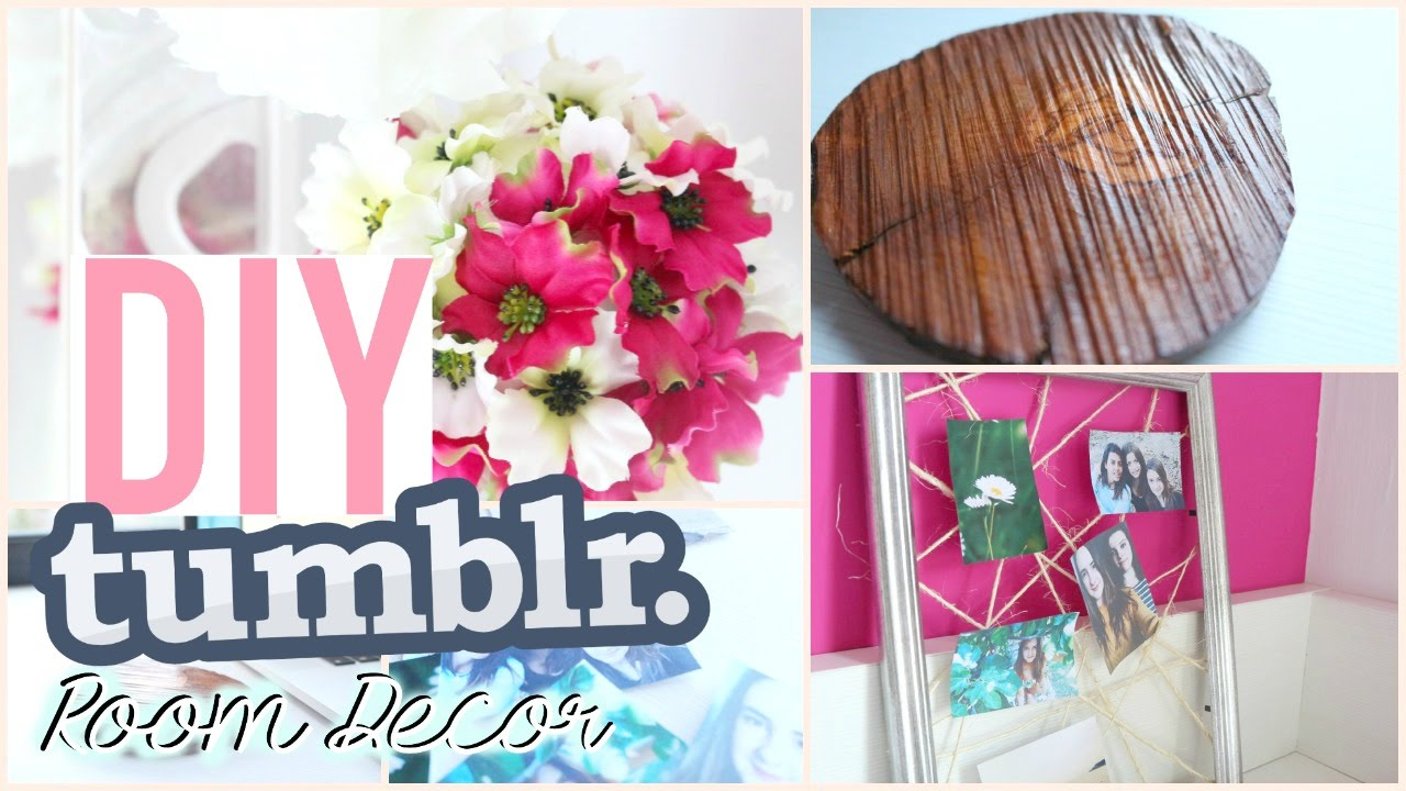 Diy tumblr room decor decora tu habitaci n f cil y r pido for Manualidades para decorar tu cuarto