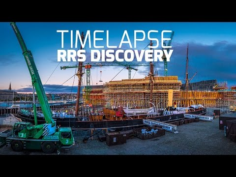RRS Discovery Dundee Timelapse Footage by Airborne Lens
