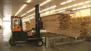 Производство строительного бруса BAUTEX