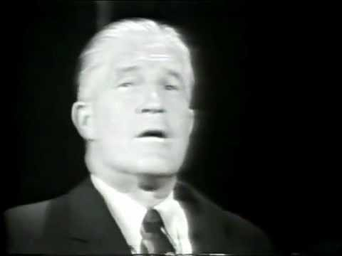 George Romney Interview by Lou Gordon on being brainwashed on Vietnam. 1968