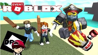 Roblox Event 2019-Dudu Play fought with the pirate to win the boxing glove