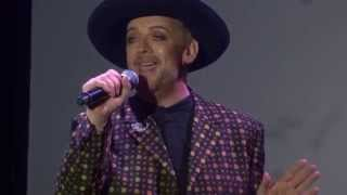 "Boy George ""Everything I Own"" West Hollywood Halloween Carnival 2015"