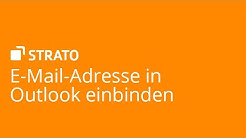 E-Mail-Adresse in Outlook einbinden | STRATO Tutorial