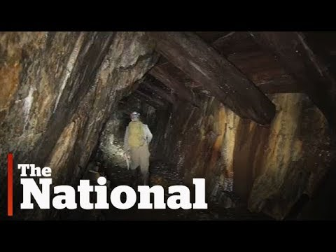 Mine hunters explore abandoned underground mines in Nova Scotia