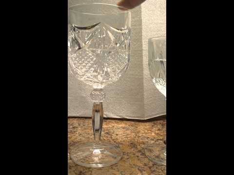 How To Tell Crystal From Cut Glass