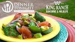 Spinach-Avocado Salad with Grapefruit Vinaigrette