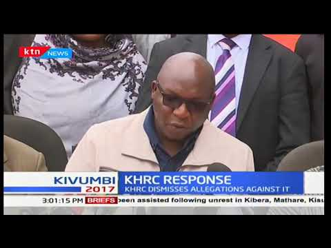 KHRC responds to the order to close the civil rights organization