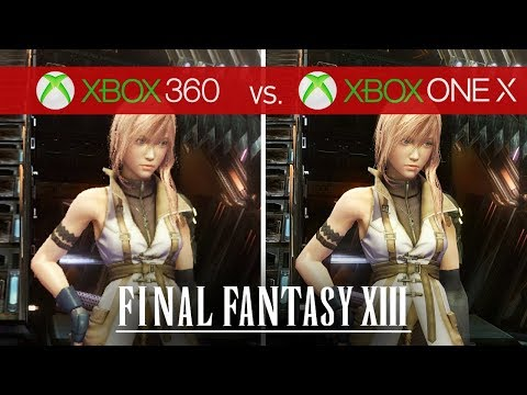 Final Fantasy XIII Comparison - Xbox 360 vs. Xbox One X