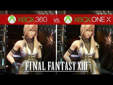 Final Fantasy XIII Comparison - Xbox 360 vs. Xbox One X