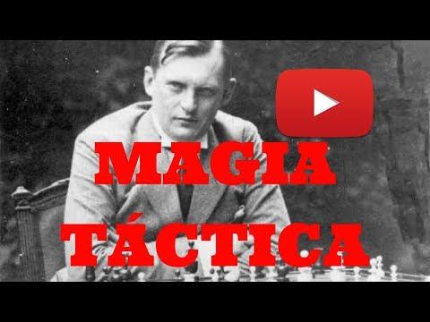 MAGIA TÁCTICA: Alekhine vs Reshevsky (Kemeri, 1937)