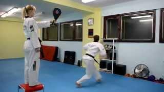 Тхэквондо / Тренировка удара 540 и 720